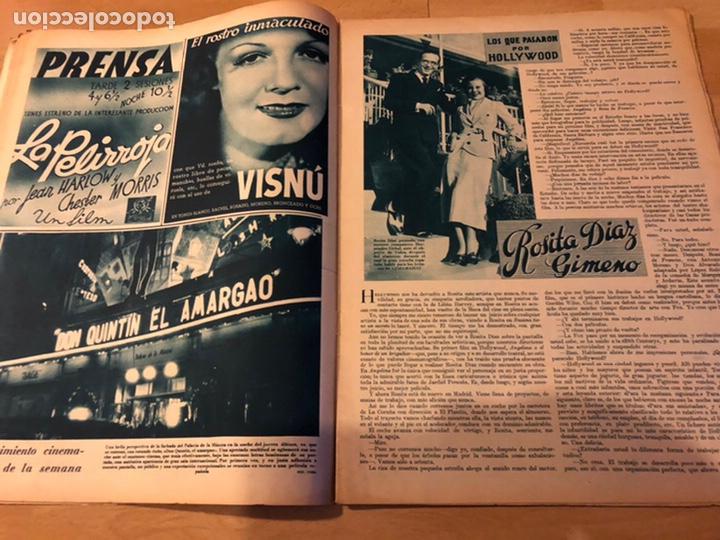 Cine: Revista cinegramas 56.octubre 1935 Betty grable.dolores Del Río.marlene Dietrich Imperio Argentina - Foto 4 - 185753753