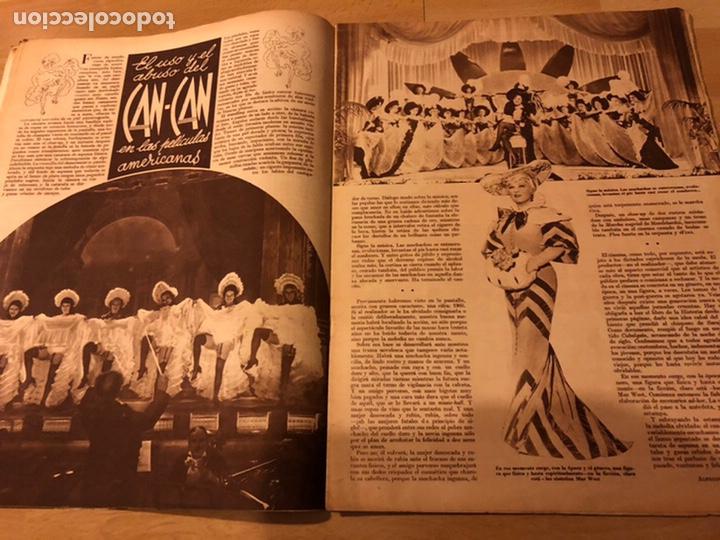 Cine: Revista cinegramas 56.octubre 1935 Betty grable.dolores Del Río.marlene Dietrich Imperio Argentina - Foto 5 - 185753753