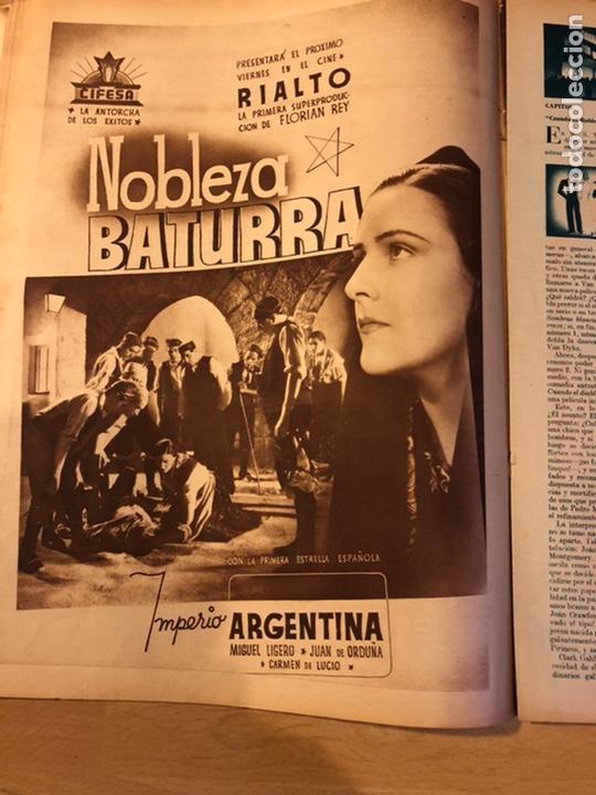Cine: Revista cinegramas 56.octubre 1935 Betty grable.dolores Del Río.marlene Dietrich Imperio Argentina - Foto 6 - 185753753