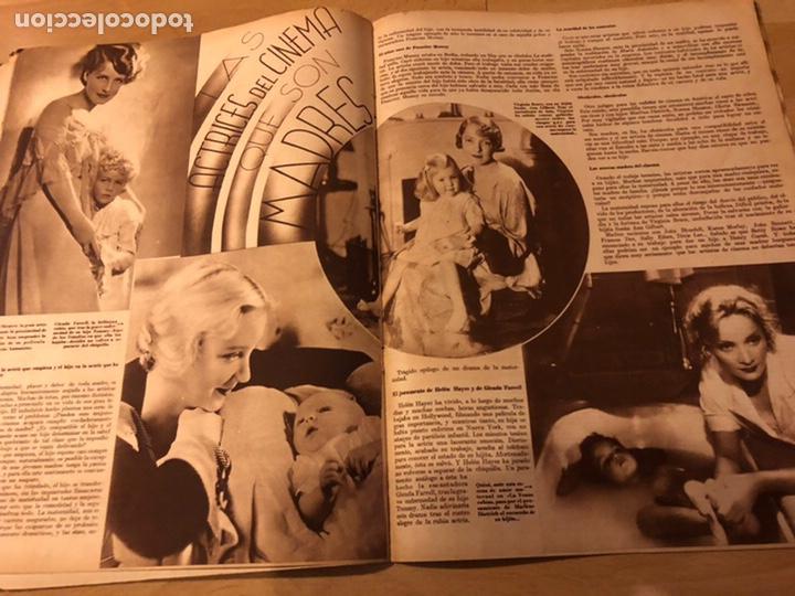 Cine: Revista cinegramas 56.octubre 1935 Betty grable.dolores Del Río.marlene Dietrich Imperio Argentina - Foto 7 - 185753753