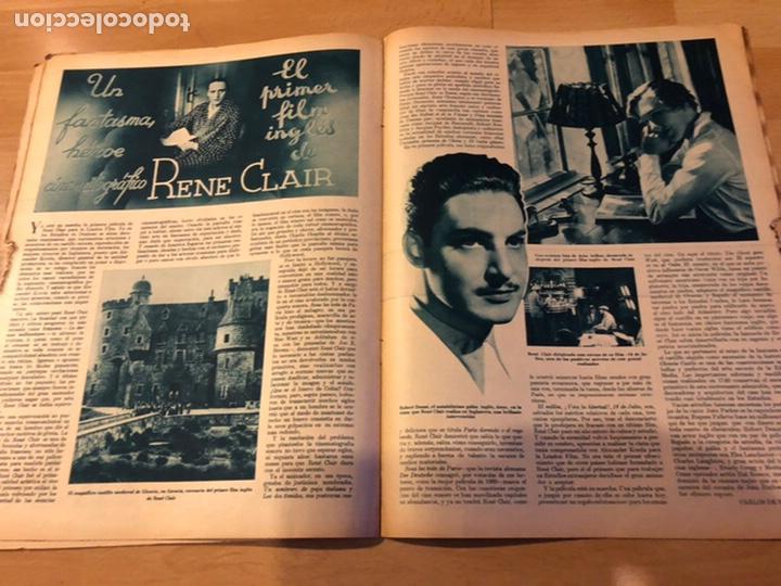 Cine: Revista cinegramas 56.octubre 1935 Betty grable.dolores Del Río.marlene Dietrich Imperio Argentina - Foto 8 - 185753753