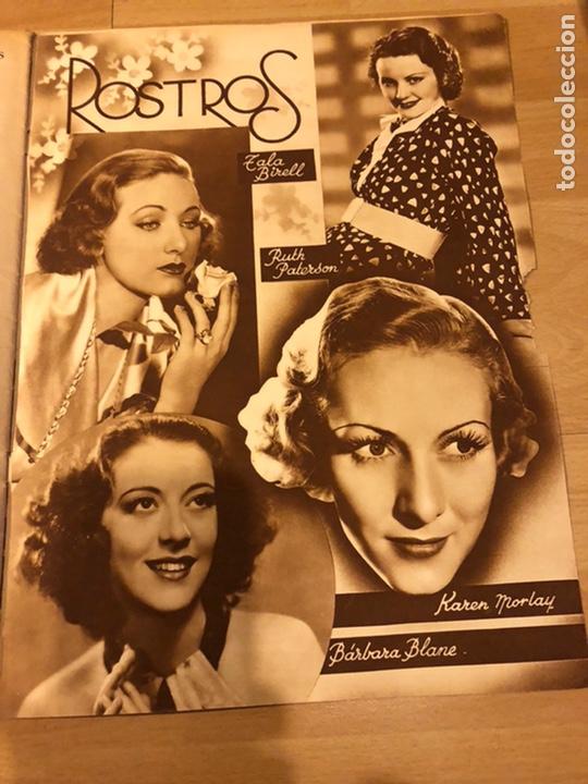 Cine: Revista cinegramas 56.octubre 1935 Betty grable.dolores Del Río.marlene Dietrich Imperio Argentina - Foto 9 - 185753753