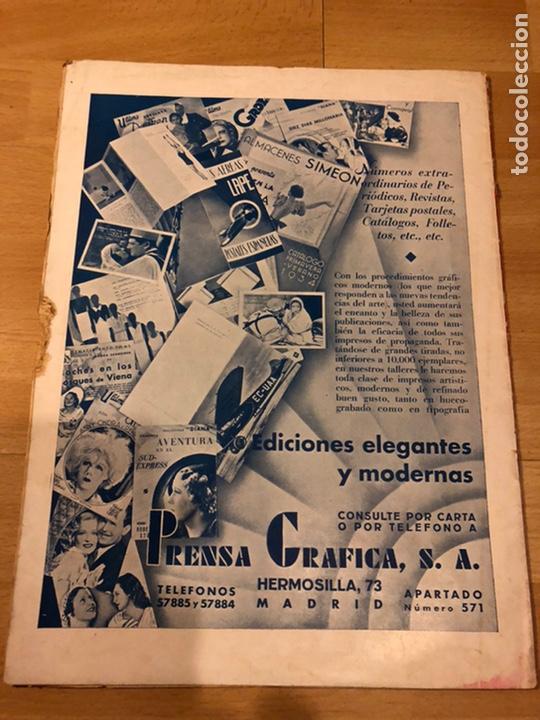 Cine: Revista cinegramas 56.octubre 1935 Betty grable.dolores Del Río.marlene Dietrich Imperio Argentina - Foto 10 - 185753753