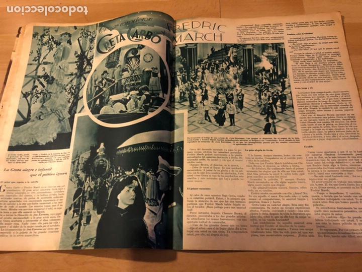 Cine: Revista cinegramas 63 noviembre 1935 Daniela parola.greta garbo angelillo la verbena de la paloma - Foto 2 - 185753936