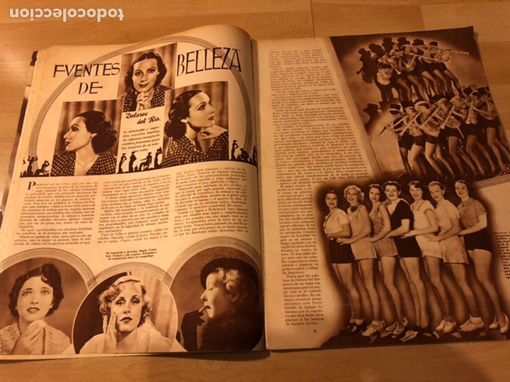 Cine: Revista cinegramas 63 noviembre 1935 Daniela parola.greta garbo angelillo la verbena de la paloma - Foto 4 - 185753936