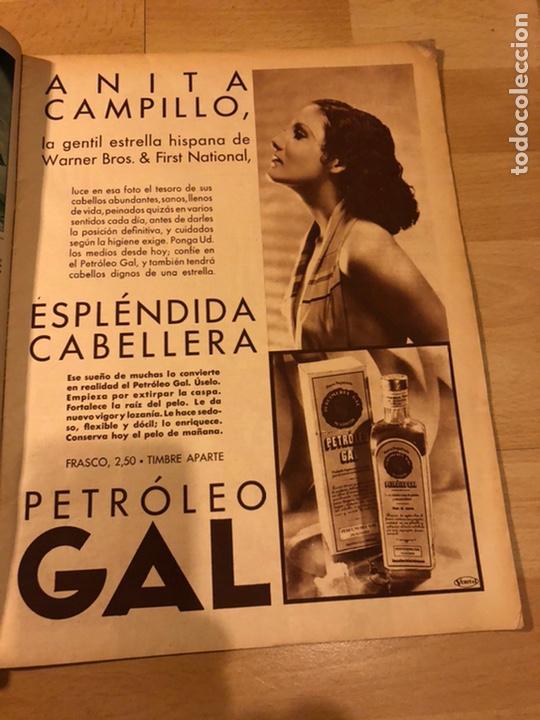 Cine: Revista cinegramas 63 noviembre 1935 Daniela parola.greta garbo angelillo la verbena de la paloma - Foto 5 - 185753936