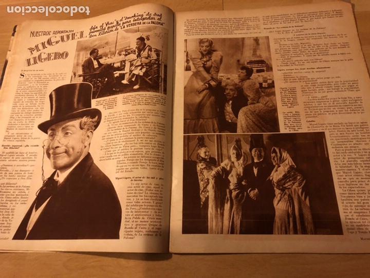 Cine: Revista cinegramas 63 noviembre 1935 Daniela parola.greta garbo angelillo la verbena de la paloma - Foto 6 - 185753936