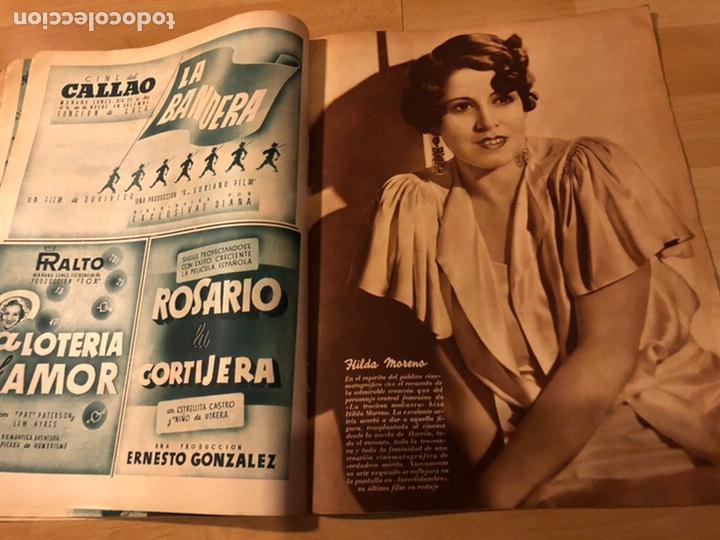 Cine: Revista cinegramas 63 noviembre 1935 Daniela parola.greta garbo angelillo la verbena de la paloma - Foto 7 - 185753936