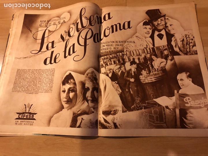 Cine: Revista cinegramas 63 noviembre 1935 Daniela parola.greta garbo angelillo la verbena de la paloma - Foto 8 - 185753936