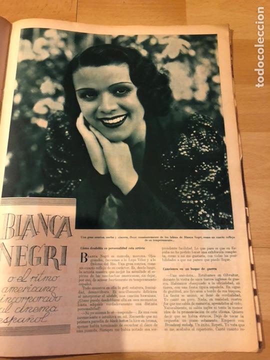 Cine: Revista cinegramas 63 noviembre 1935 Daniela parola.greta garbo angelillo la verbena de la paloma - Foto 9 - 185753936