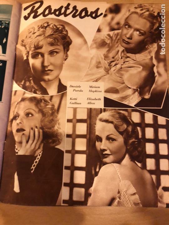Cine: Revista cinegramas 63 noviembre 1935 Daniela parola.greta garbo angelillo la verbena de la paloma - Foto 10 - 185753936