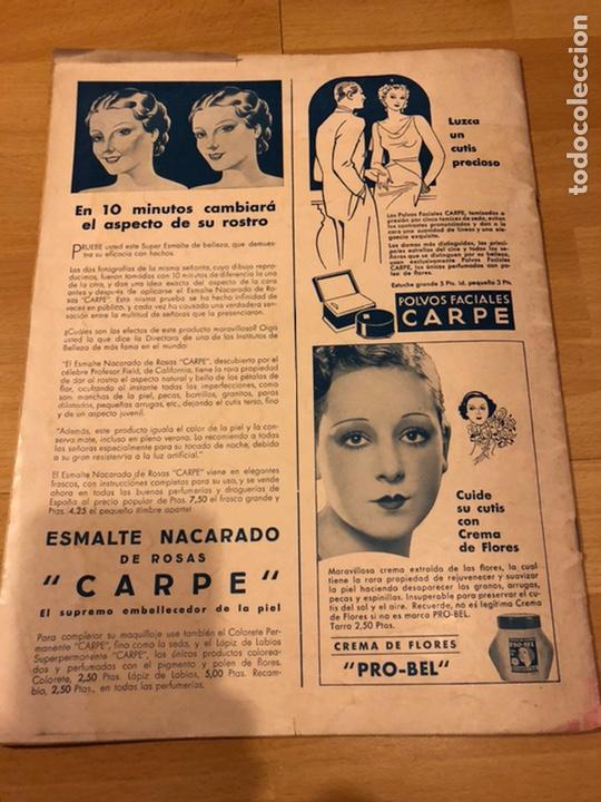 Cine: Revista cinegramas 63 noviembre 1935 Daniela parola.greta garbo angelillo la verbena de la paloma - Foto 11 - 185753936