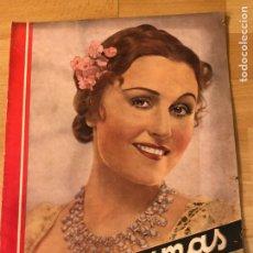 Cinéma: REVISTA CINEGRAMAS 63 NOVIEMBRE 1935 DANIELA PAROLA.GRETA GARBO ANGELILLO LA VERBENA DE LA PALOMA. Lote 185753936