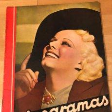 Cine: REVISTA CINEGRAMAS 84 ABRIL 1936 JEAN HARLOW.KATHARINE HEPBURN CAROLE LOMBARD CHAPLIN. Lote 185754321