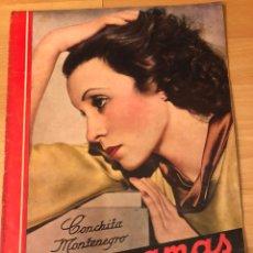 Cinéma: REVISTA CINEGRAMAS 15 DICIEMBRE 1934.CONCHITA MONTENEGRO.JOAN CRAWFORD GRETA GARBO MARLENE DIETRICH. Lote 185754936