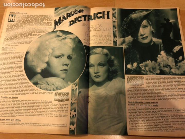 Cine: Revista cinegramas 71 enero 1936 Grace moore.marlene Dietrich paul Muni myrna loy - Foto 2 - 185755316