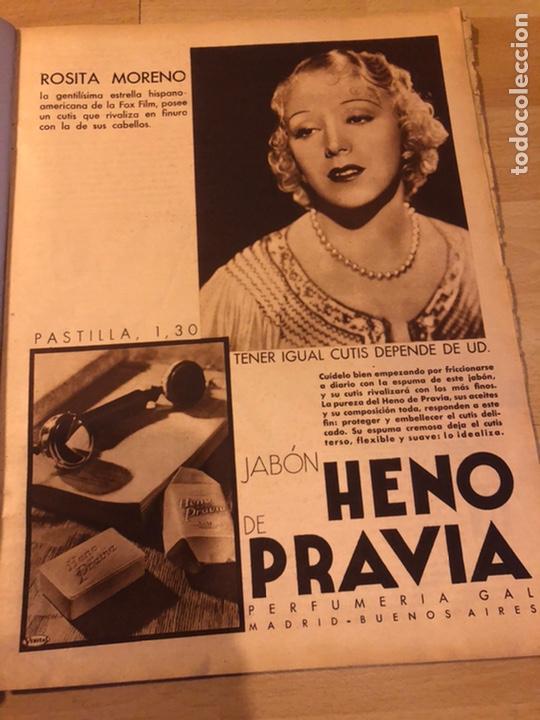 Cine: Revista cinegramas 71 enero 1936 Grace moore.marlene Dietrich paul Muni myrna loy - Foto 3 - 185755316