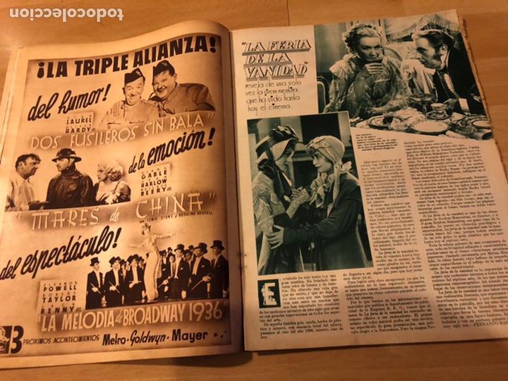 Cine: Revista cinegramas 71 enero 1936 Grace moore.marlene Dietrich paul Muni myrna loy - Foto 4 - 185755316