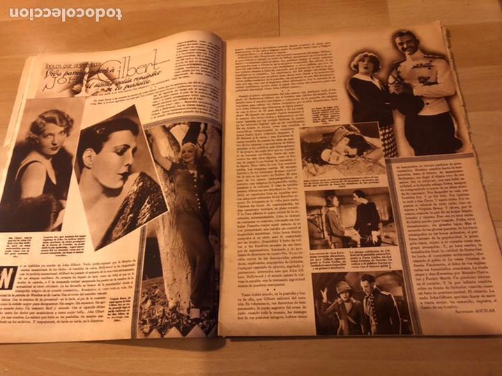Cine: Revista cinegramas 71 enero 1936 Grace moore.marlene Dietrich paul Muni myrna loy - Foto 5 - 185755316