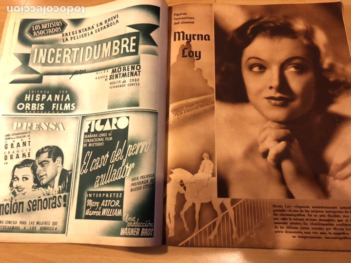 Cine: Revista cinegramas 71 enero 1936 Grace moore.marlene Dietrich paul Muni myrna loy - Foto 6 - 185755316