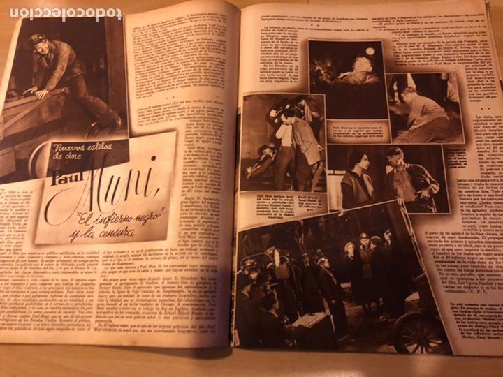 Cine: Revista cinegramas 71 enero 1936 Grace moore.marlene Dietrich paul Muni myrna loy - Foto 7 - 185755316