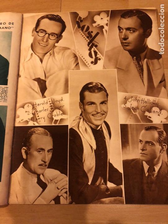 Cine: Revista cinegramas 71 enero 1936 Grace moore.marlene Dietrich paul Muni myrna loy - Foto 8 - 185755316