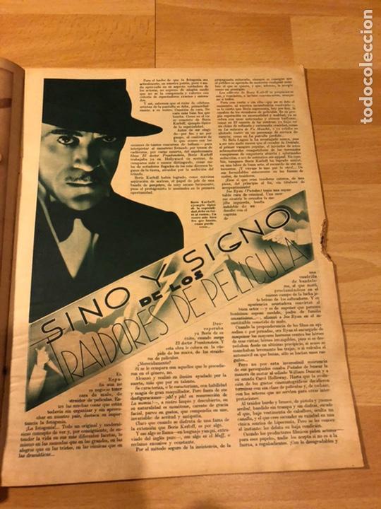 Cine: Revista cinegramas 51 septiembre 1935 dolores Del Río.boris karloff Erich von stroheim Lon Chaney - Foto 3 - 185755468