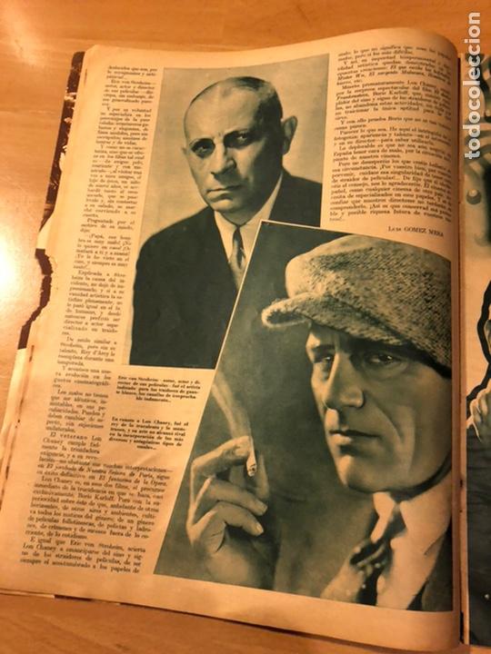 Cine: Revista cinegramas 51 septiembre 1935 dolores Del Río.boris karloff Erich von stroheim Lon Chaney - Foto 4 - 185755468