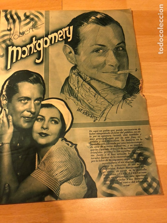 Cine: Revista cinegramas 51 septiembre 1935 dolores Del Río.boris karloff Erich von stroheim Lon Chaney - Foto 5 - 185755468