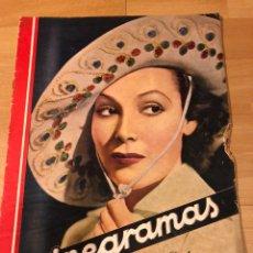 Cine: REVISTA CINEGRAMAS 51 SEPTIEMBRE 1935 DOLORES DEL RÍO.BORIS KARLOFF ERICH VON STROHEIM LON CHANEY. Lote 185755468