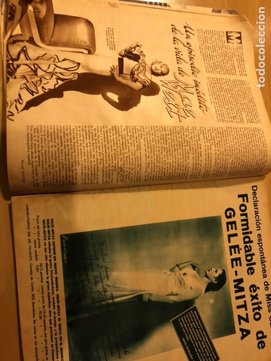 Cine: Revista cinegramas 88 mayo 1936 annabella.anna sten carole lombard - Foto 5 - 185755546