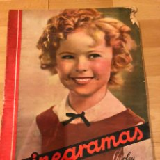 Cine: REVISTA CINEGRAMAS 82 ABRIL 1936 SHIRLEY TEMPLE.WALLACE BEERY GINGER ROGERS ANTONIO VICO. Lote 185756251