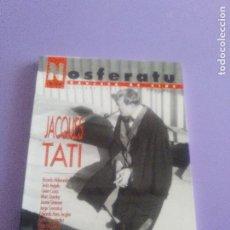 Cine: NOSFERATU - REVISTA DE CINE - NUM 10 - OCTUBRE 1992 - JACQUES TATI - FEST. DE CINE DE SAN SEBASTIAN. Lote 185924787