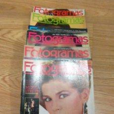 Cine: LOTE 21 REVISTAS FOTOGRAMAS 1982 A 1984 VICTORIA ABRIL ANA OBREGON ANA BELEN . Lote 186025026