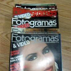 Cine: LOTE 16 REVISTAS FOTOGRAMAS 1984 A 1986 VICTORIA VERA CARMEN MAURA BIBI ANDERSEN MEL GIBSON NEWMAN. Lote 186025333