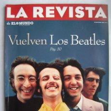 Cinema: LOS BEATLES. JODIE FOSTER. LA REVISTA DE EL MUNDO. 1995. 146 PÁGINAS.. Lote 186028307
