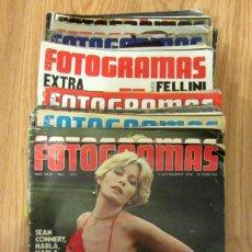 Cine: LOTE 36 REVISTAS NUEVO FOTOGRAMAS 1976 1977 ENTRE 1455 1497 BARBARA REY CANTUDO VICTORIA VERA ABRIL. Lote 186111822