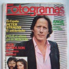 Cine: RINGO STARR (THE BEATLES). JACK NICHOLSON. ANA BELÉN. REVISTA FOTOGRAMAS 1981.. Lote 186111833