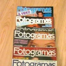 Cine: LOTE 11 REVISTAS FOTOGRAMAS 1981-1989 1666 1748 VICTORIA ABRIL BIBI ANDERSEN HARRISON FORD IMANOL . Lote 186112092