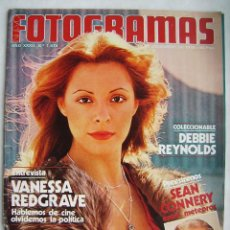 Cine: SEAN CONNERY. VANESSA REDGRAVE. REVISTA FOTOGRAMAS 1978.. Lote 186112247