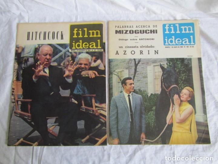 Cine: 23 números de la revista Film Ideal, ver número en descripción y fotografías - Foto 2 - 186127125