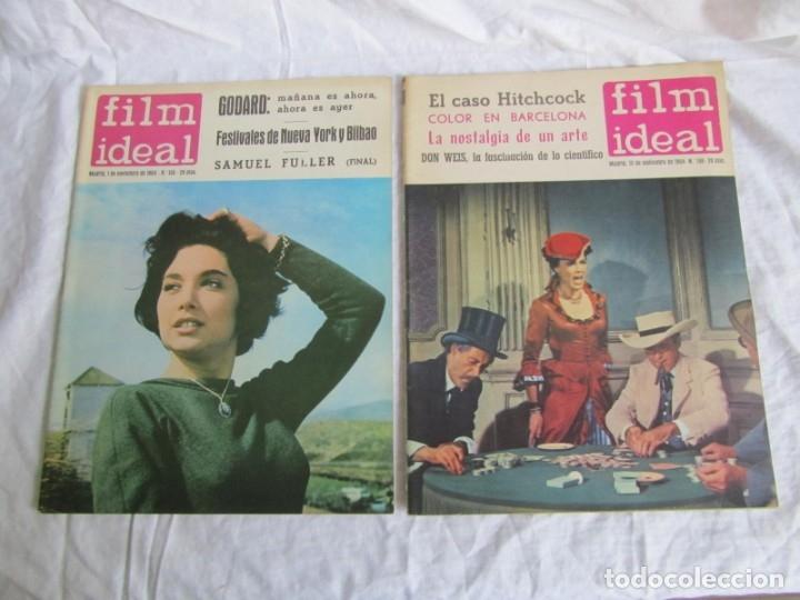 Cine: 23 números de la revista Film Ideal, ver número en descripción y fotografías - Foto 4 - 186127125