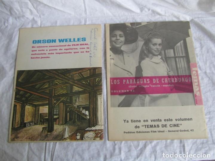 Cine: 23 números de la revista Film Ideal, ver número en descripción y fotografías - Foto 5 - 186127125