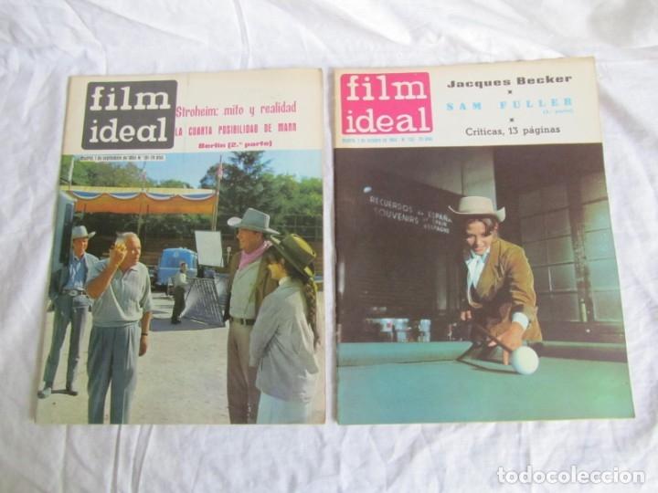 Cine: 23 números de la revista Film Ideal, ver número en descripción y fotografías - Foto 6 - 186127125