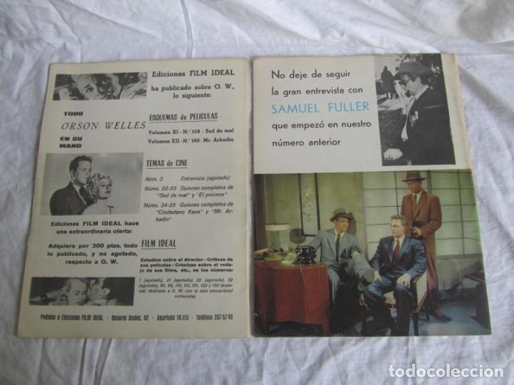 Cine: 23 números de la revista Film Ideal, ver número en descripción y fotografías - Foto 7 - 186127125
