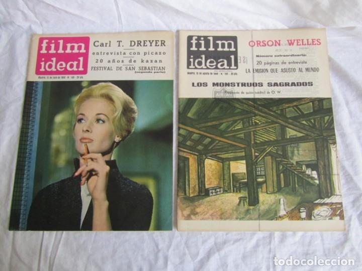 Cine: 23 números de la revista Film Ideal, ver número en descripción y fotografías - Foto 8 - 186127125