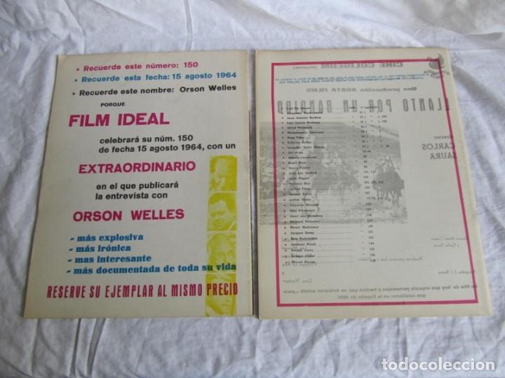 Cine: 23 números de la revista Film Ideal, ver número en descripción y fotografías - Foto 9 - 186127125
