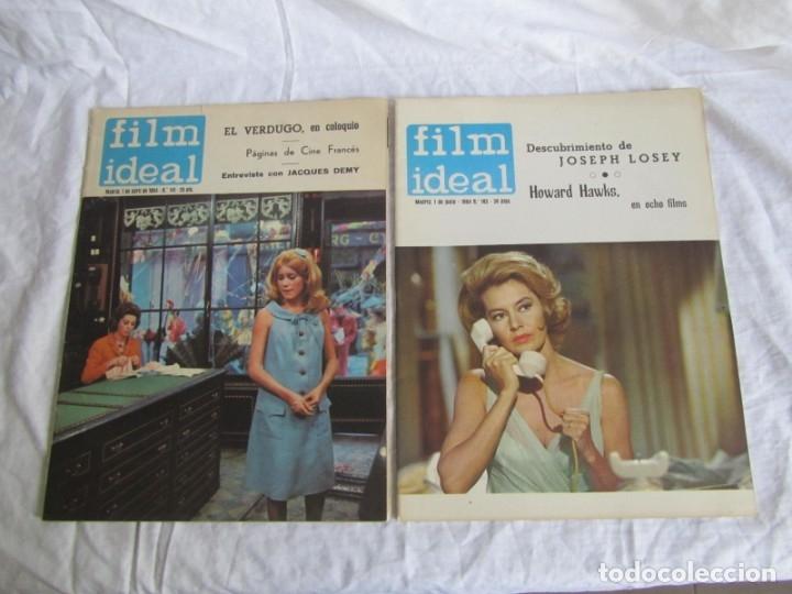 Cine: 23 números de la revista Film Ideal, ver número en descripción y fotografías - Foto 10 - 186127125