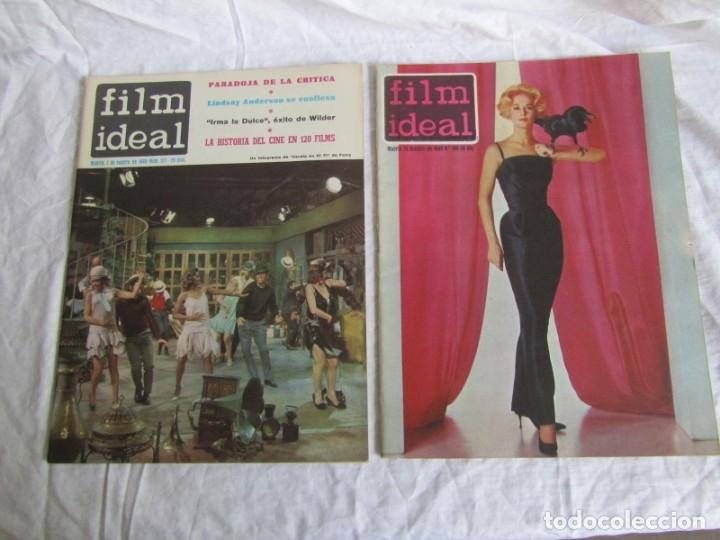 Cine: 23 números de la revista Film Ideal, ver número en descripción y fotografías - Foto 13 - 186127125