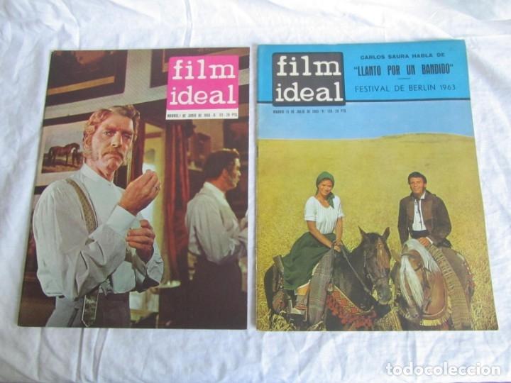 Cine: 23 números de la revista Film Ideal, ver número en descripción y fotografías - Foto 15 - 186127125